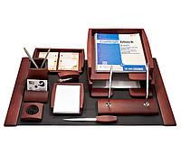 Набор настольный Bestar 10 предметов 0293 DDV Тёмная вишня