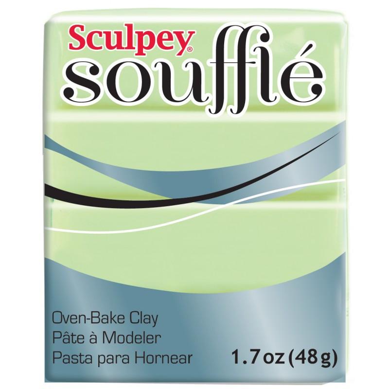 Новинка! Полимерная глина Sculpey Souffle Скалпи Суфле, фисташковый 6629