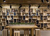 Дизайн магазина Moknemin в Хмельницком от Елены Самариной