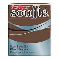 Новинка! Полимерная глина Sculpey Souffle Скалпи Суфле, карамель 6053