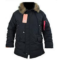 Куртка зимняя аляска n-3b Black Производитель: CHAMELEON