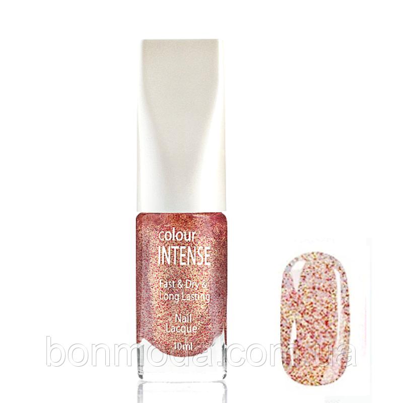 Лак для ногтей Colour Intense Nail Lacquer (прозрачный с разноцветными блёстками) № 086
