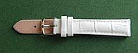 14 Ремешок кожа Torino (Италия) Белый, фото 1