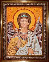 Икона из янтаря Ангел Хранитель