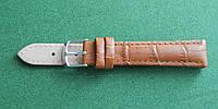 14 Ремешок кожа Torino (Италия) Светло - коричневый, фото 1