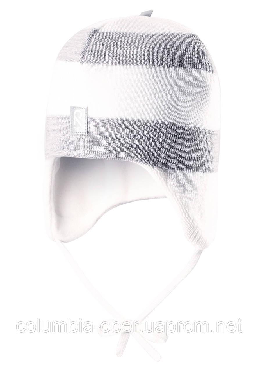 Детская зимняя шапка для девочки Reima 518316-0110. 46см.