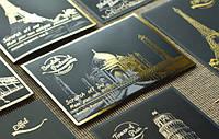 """Набор 4-х скретч-открыток """"Версия 3"""" Lago"""