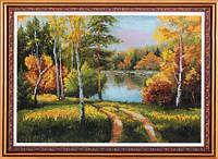 "Набор для вишивания ""Осенний пейзаж"" Диана+"