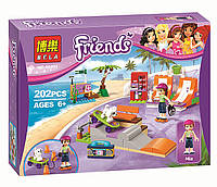 "Конструктор Bela Friends 10491 ""Скейт-парк"" (аналог LEGO Friends 41099), 202 дет"