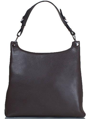 Компактная женская сумка из натуральной кожи DESISAN (ДЕСИСАН) SHI7127-9FL серый