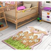 Ковер в детскую комнату Confetti - Baby Sheep белый 80 х150 см