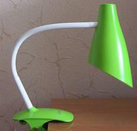 Настольная лампа led 5W с регулировкой света (зеленая)