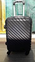 Чемодан Suitcase 1565 из поликарбоната маленький!  BLACK