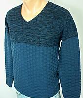 Мужской  стильный турецкий пуловер