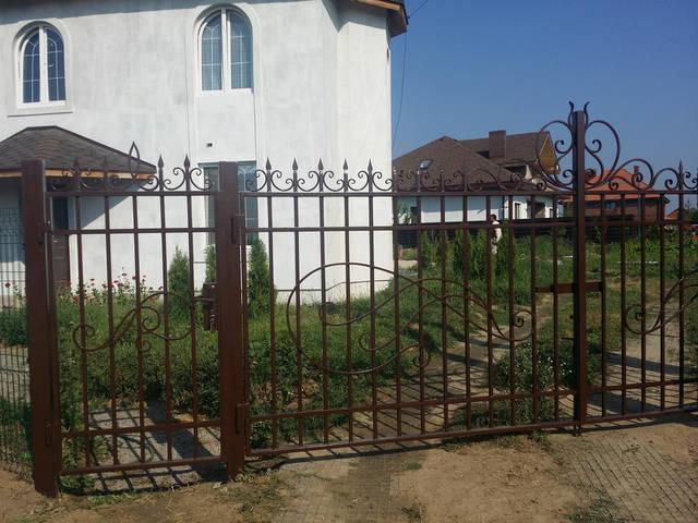 Ворота кованые  -1