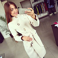 Женское пальто кашемир Волна, фото 1