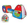 Палатка с тоннелем для детей М 2958
