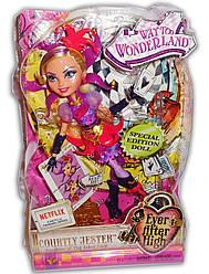 Кукла Mattel Ever After High Кортли Джестер Дорога в страну чудес  Courtly Jester Way Too Wonderland