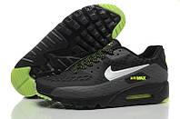 Кроссовки мужские Nike Air Max 90 Ultra BR (найк аир макс 90 ультра) черные