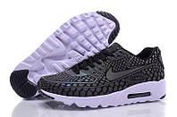 Кроссовки мужские Nike Air Max 90 Light Reflection (найк аир макс 90 лайт рефлекшн) черные
