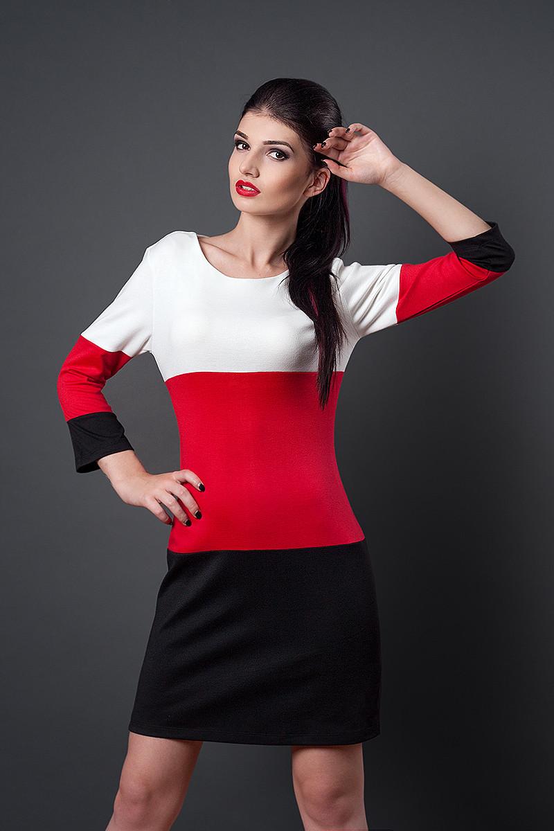 Платье мод №252-2, размеры 46