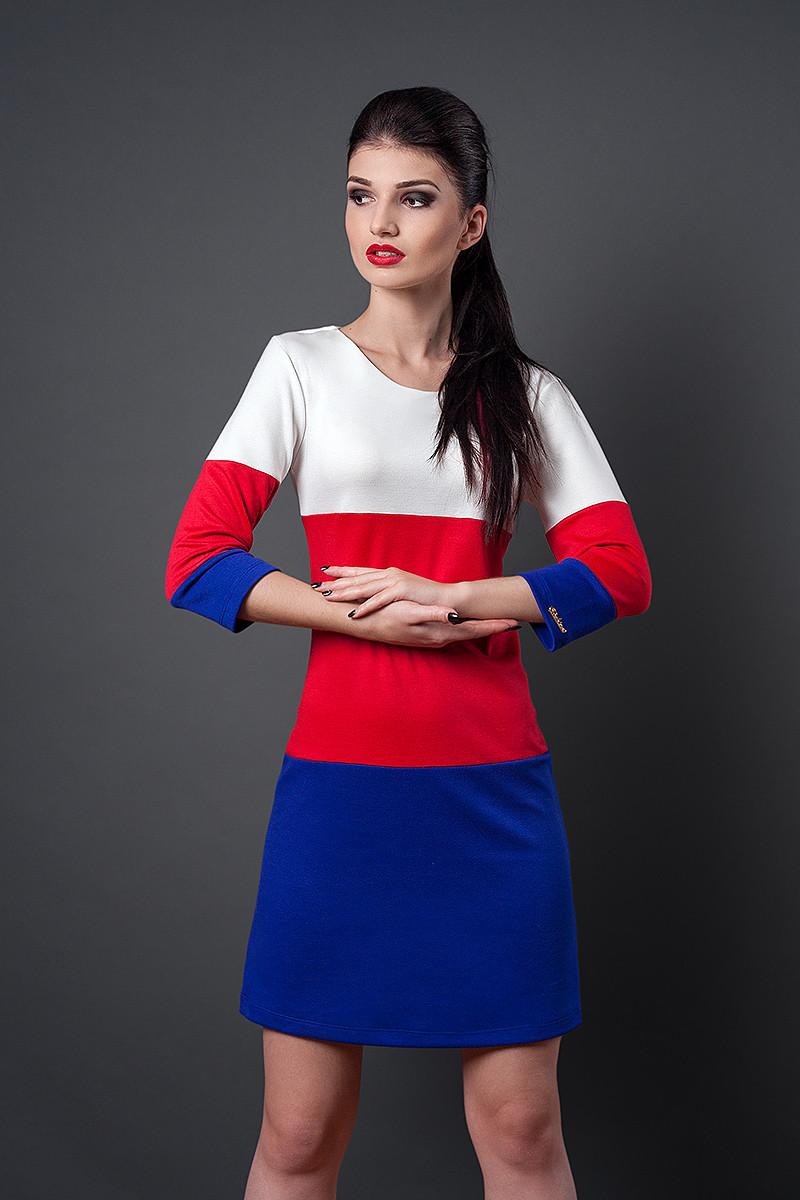 Платье мод №252-3, размеры 40,46