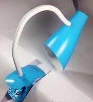 Настольная лампа led 5W с регулировкой света (синяя)