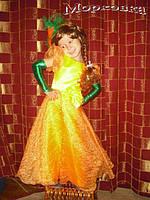 Детское карнавальное платье Морковка прокат Киев, Троещина