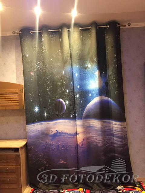 Фото шторы в интерьере -1