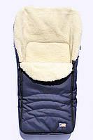 "Зимний конверт ""Kids"" на овчине в коляску и санки, фото 1"