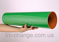 Роллер-цилиндр для йоги (жесткий, зеленый)