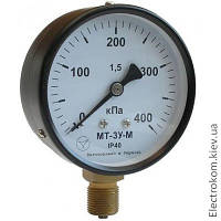 Мановакуумметр показывающий МТ-3У-А, -100...60 кПа, 1,5