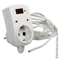 Терморегулятор в розетку ТР-1, -55...+125 С, 220-230 V AC