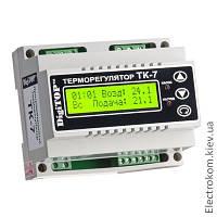 Терморегулятор ТК-7 с недельным программатором, 0...85 С, 220-230 V AC