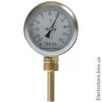 Термометр биметаллический ТБУ-63 радиальный, -35...+60 С, 50 мм