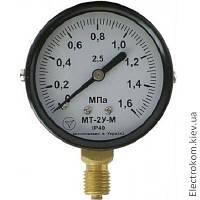 Вакуумметр показывающий МТ-2У-В, -100...0 кПа, 2,5