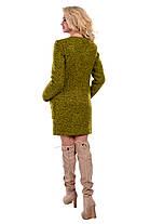 Качественное женское осеннее пальто арт. Милтон букле 6734, фото 2