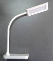Лампа настольная led 6,1W с регулировкой света (белый)