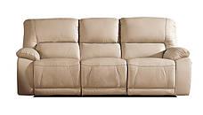 Польский кожаный диван с реклайнером ALASKA. Трехместный, фото 3