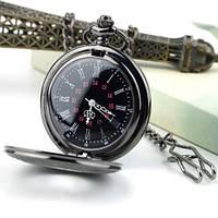 Часы Карманные Ретро Темные