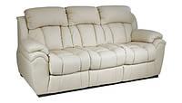 Кожаный трехместный диван с механизмом реклайнер - BOSTON