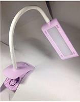Лампа настольная led 6,1W с регулировкой света (розовый)