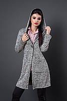 Кардиган мод 255-1 размеры  48-50 серый