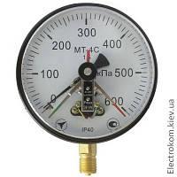Манометр электроконтактный МТ-4С, 0...160 кПа, 1,5