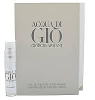 Armani Acqua Di Gio Pour Home - туалетная вода  (Оригинал) 1,2ml (пробник)
