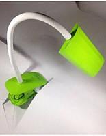 Лампа настольная led 6,1W с регулировкой света (зеленый)