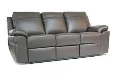 """Новый трехместный кожаный диван-реклайнер """"PHILADELPHIA"""", фото 2"""