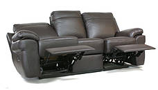 """Новый трехместный кожаный диван-реклайнер """"PHILADELPHIA"""", фото 3"""