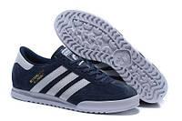Мужские кроссовки Adidas Beckenbauer Blue