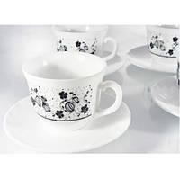 Чайный сервиз Luminarc Alcove Black H2446 12 предметов